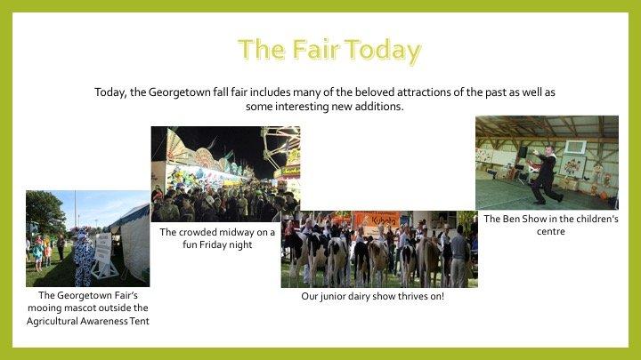 georgetown fall fair